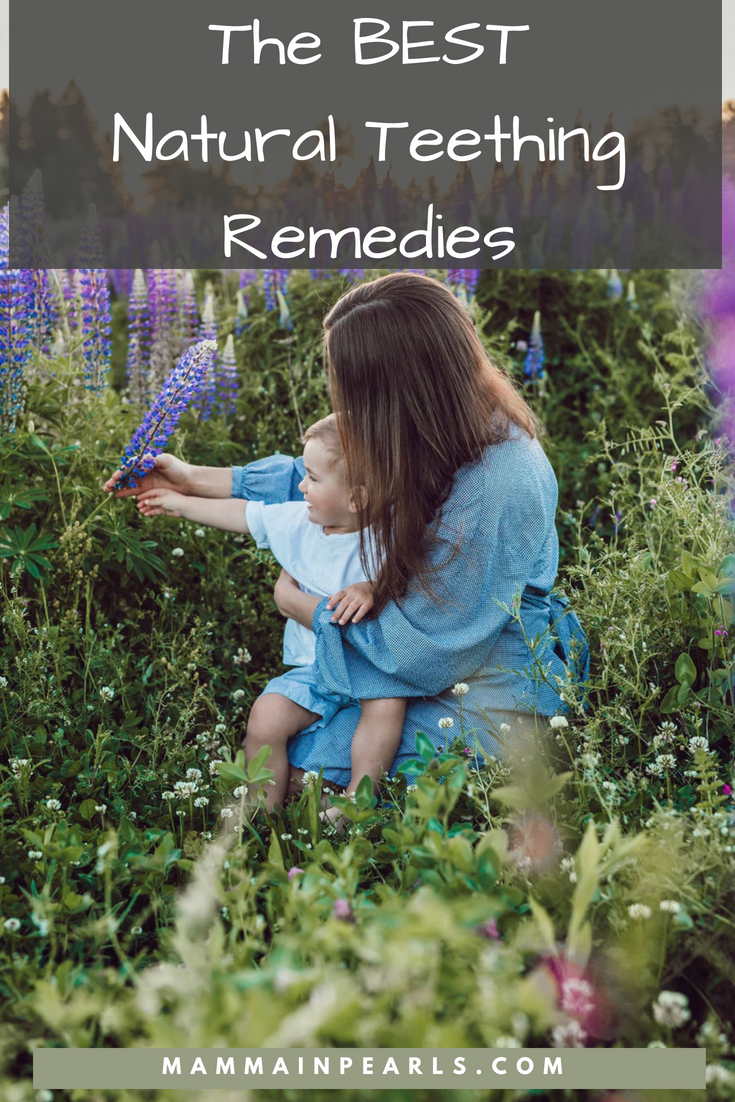 Check out these Natural Teething Remedies that actually work for relieving the pain that comes with teething.