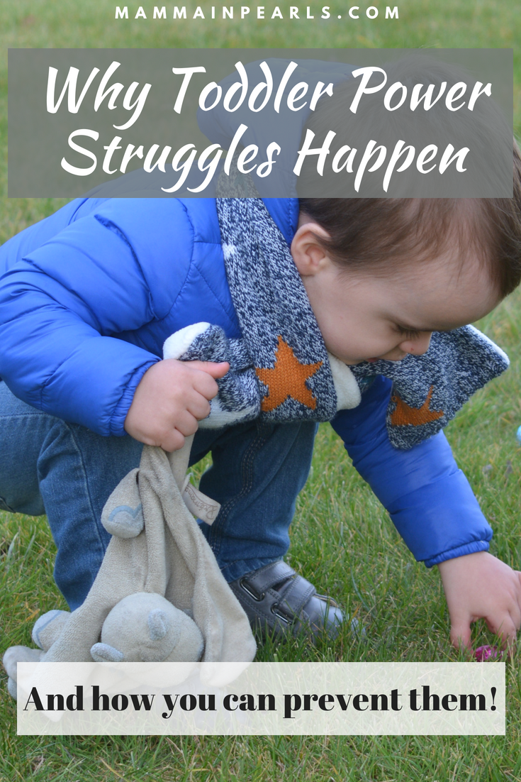 The surprisingly simple way to prevent most power struggles with your toddler!