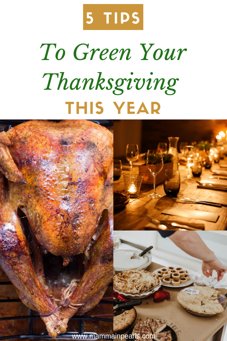 Have a green Thanksgiving with these ways to be more sustainable