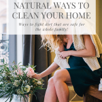Cleaning with natural products and natural cleansers